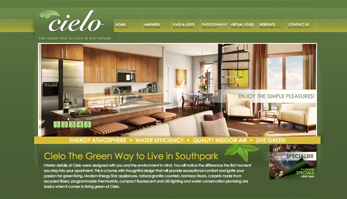 17 Fantastic Real Estate Web Designs - Accrisoft