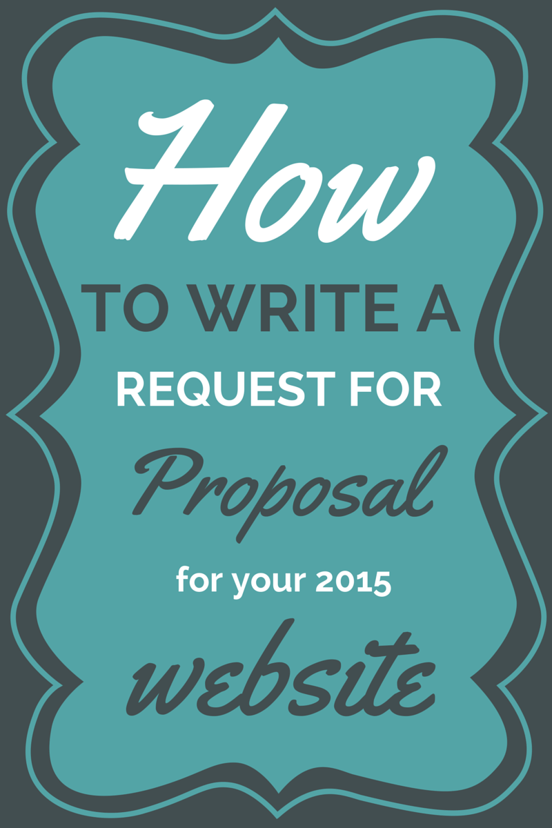 How To Write An RFP For Your 2015 Website - Accrisoft
